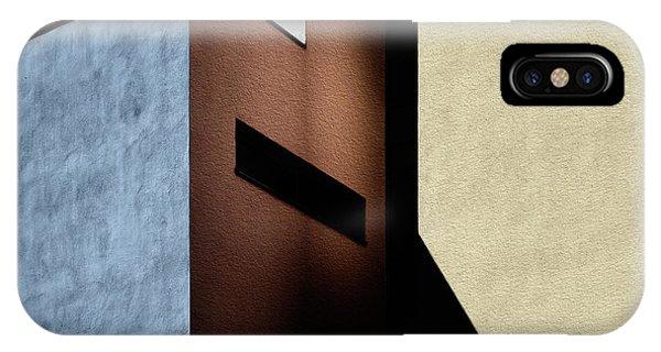 Angle iPhone X Case - Cool-warm Mix. by Harry Verschelden