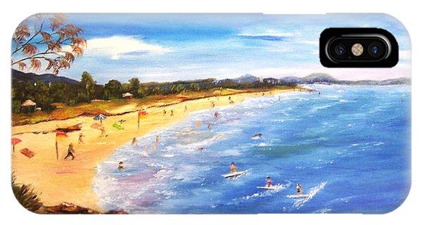 Coolum Beach IPhone Case