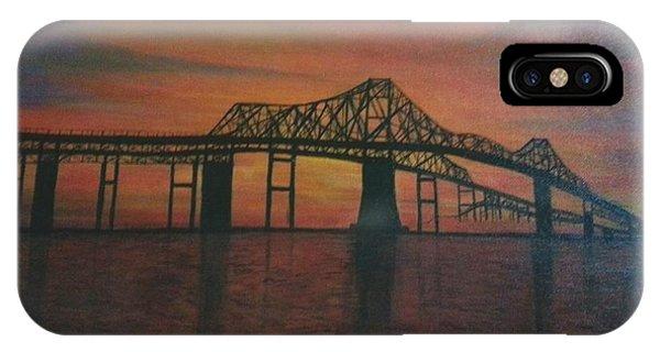 Cooper River Bridge Memories IPhone Case