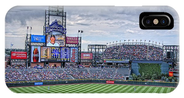 Coors Field IPhone Case