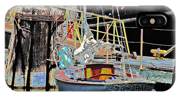 Coos Bay Harbor IPhone Case