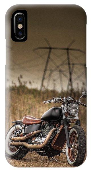 Copper Chopper IPhone Case