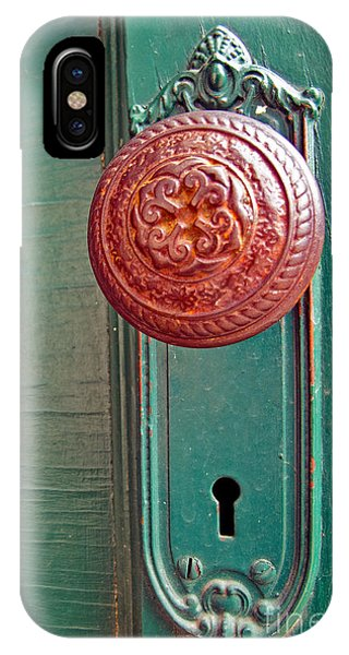Copper Door Knob IPhone Case