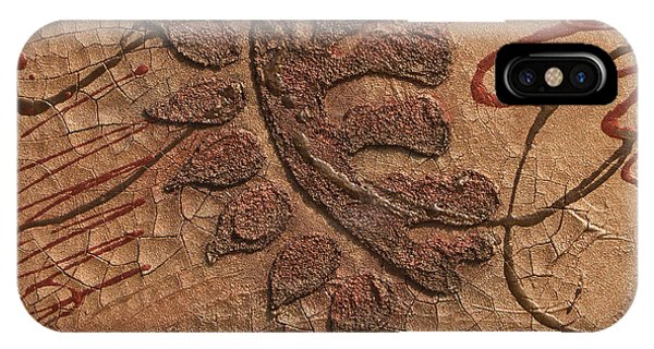 iPhone Case - Copper Leaf by Julie Acquaviva Hayes