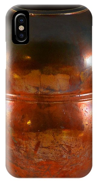 Copper Penny Gloss 2 Phone Case by Chris Tennis