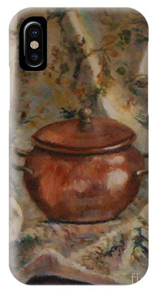 Copper Pot Phone Case by Jana Baker