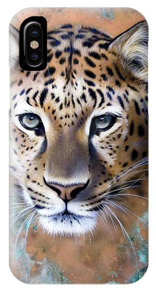 Copper Stealth - Leopard IPhone Case