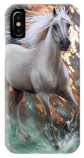 Copper Sundancer - Horse IPhone Case