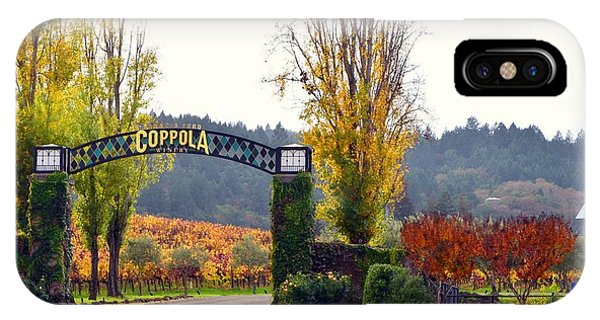 Coppola Winery Sold IPhone Case