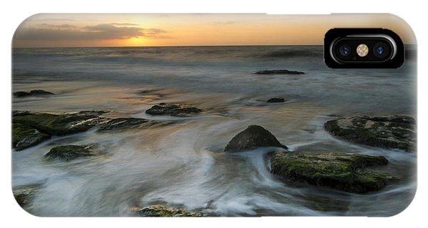 Coquina Rock Sunrise IPhone Case