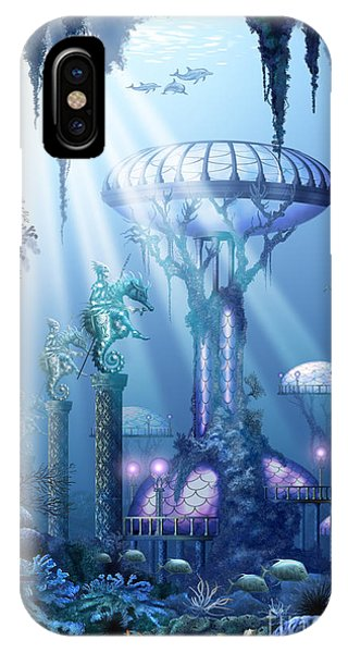 Coral City   IPhone Case
