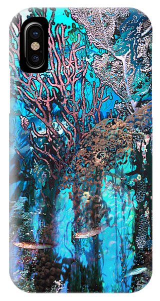 Reef Diving iPhone Case - Coral Forest by Ursula Freer