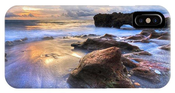 Tidal Waves iPhone Case - Coral Garden by Debra and Dave Vanderlaan