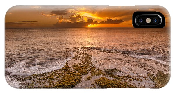 Coral Island Sunset IPhone Case