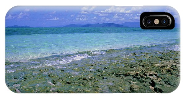 Barrier Reef iPhone Case - Coral Reef Off Green Island by Tony Buxton/science Photo Library