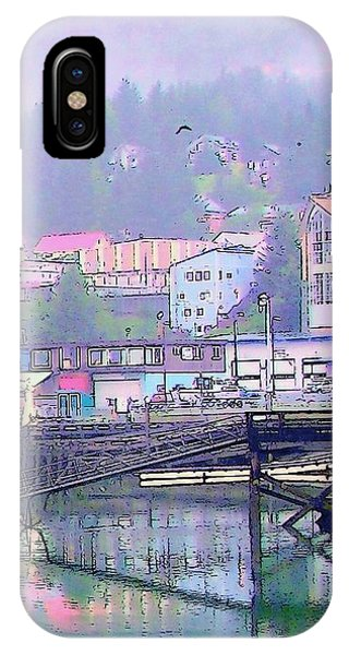 Cordova Harbor IPhone Case