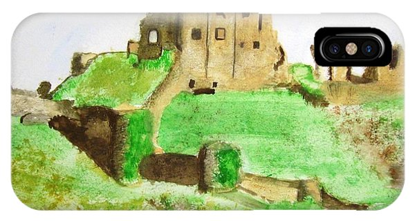 Corfe Castle IPhone Case