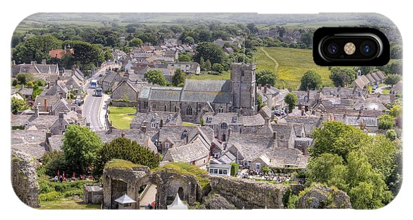 English Village iPhone Case - Corfe  by Joana Kruse