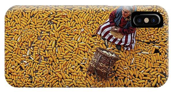 Working iPhone Case - Corn A??a?? by Mustafa Zengin