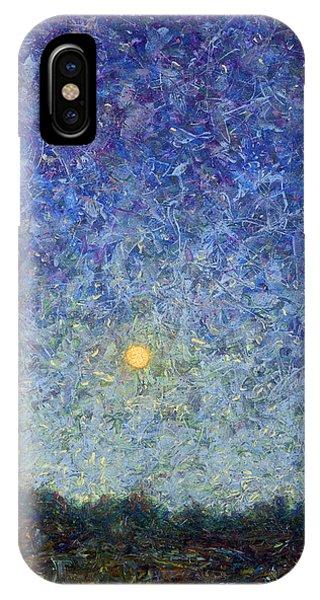 Energy iPhone Case - Cornbread Moon by James W Johnson