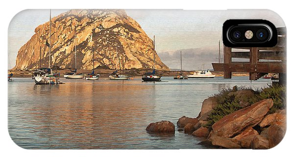 Corner Harbor IPhone Case