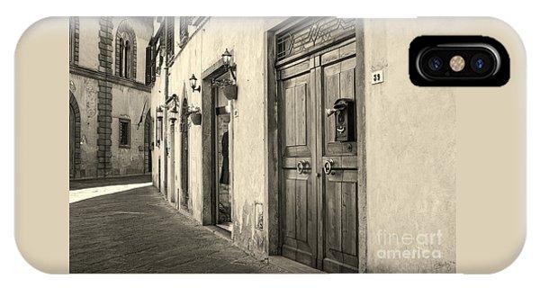 Corner Of Volterra IPhone Case