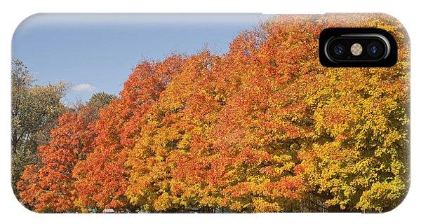 Corning Fall Foliage 3 IPhone Case