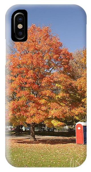 Corning Fall Foliage - 4 IPhone Case