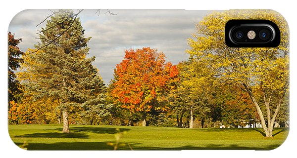 Corning Fall Foliage 5 IPhone Case