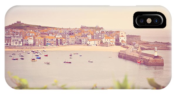 Cornish Harbour IPhone Case