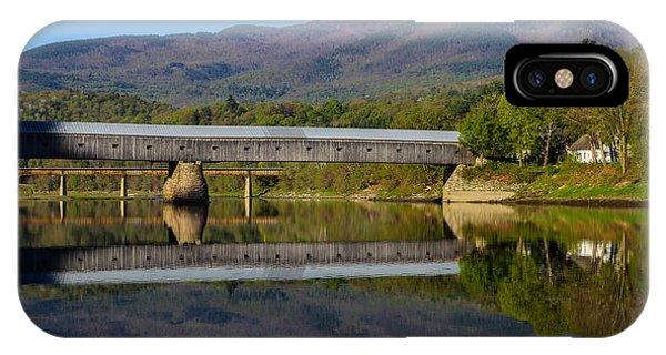 Cornish Windsor Covered Bridge IPhone Case