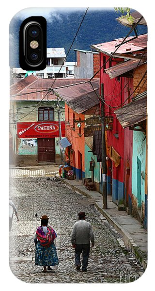 Coroico Street Scene IPhone Case