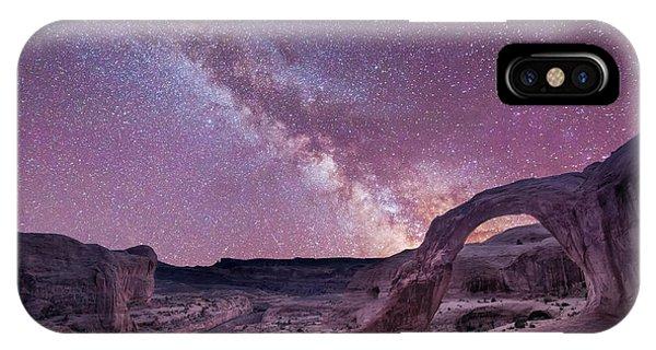 Corona Arch Milky Way IPhone Case