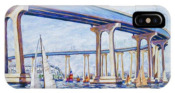 Coronado Bay Bridge IPhone Case