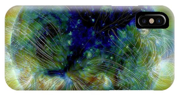 Solar System iPhone Case - Coronal Hole by Nasa/solar Dynamics Observatory