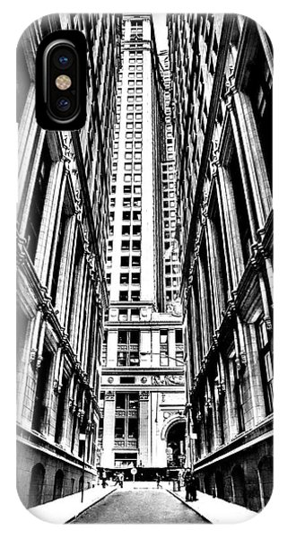 Broadway iPhone Case - Corporatocracy by Az Jackson