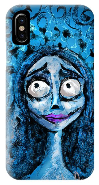 Corpse Bride Phone Sketch IPhone Case