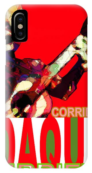 Corrido Of Joaquin Murrieta Poster IPhone Case