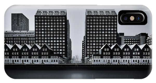 Buildings iPhone Case - Corridor by Ercan Sahin