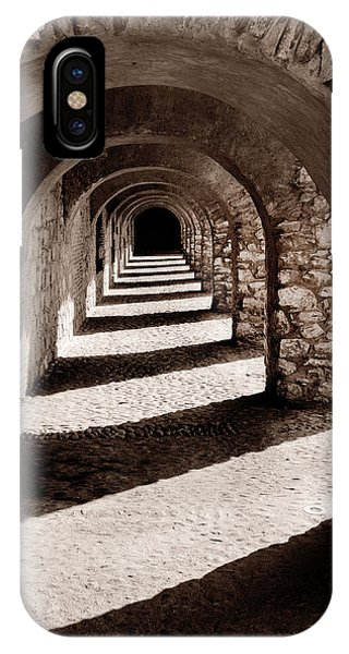 Corridors Of Stone IPhone Case