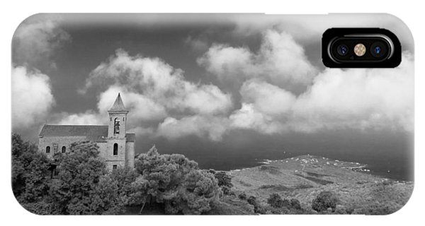 IPhone Case featuring the photograph Corsican Church by Brad Brizek