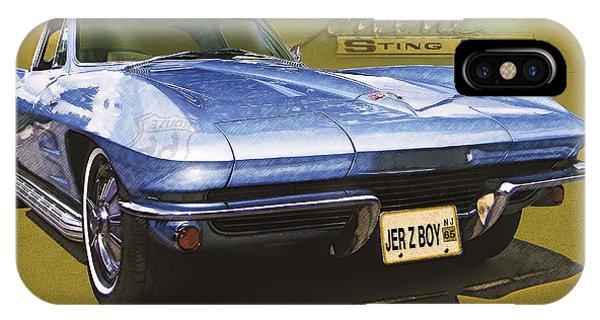 Corvette 1965 IPhone Case