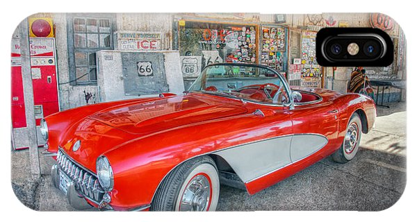 Corvette At Hackberry General Store IPhone Case