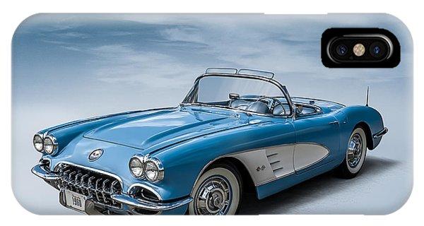 Corvette Blues IPhone Case