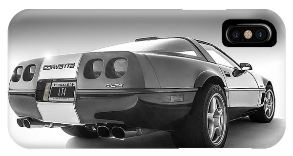 Chevrolet iPhone Case - Corvette C4 by Douglas Pittman