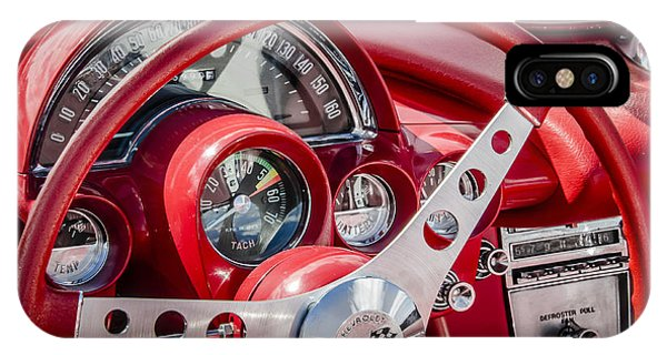 Corvette Dash IPhone Case