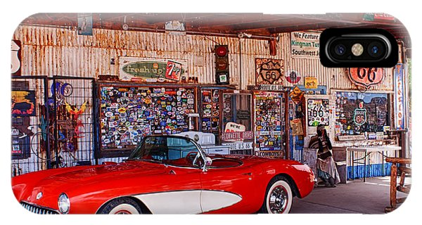 Corvette Drive Rt 66 IPhone Case