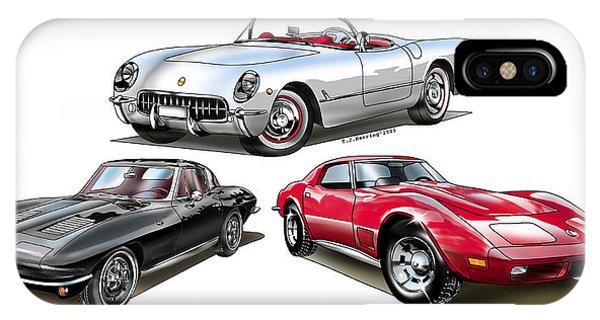 Corvette Generation IPhone Case