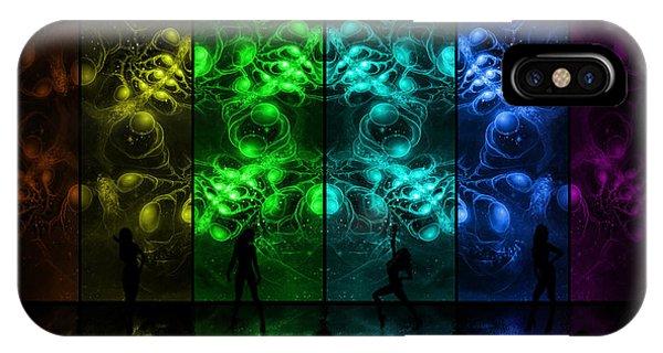 Cosmic Alien Vixens Pride IPhone Case