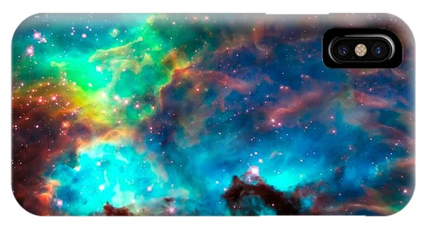 Cosmic Cradle 2 Star Cluster Ngc 2074 IPhone Case